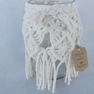 lampion makrama wazon