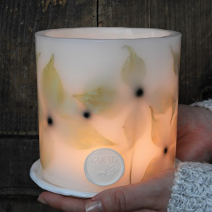 Lampion WYTCHNIENIE z ceramiczną podstawką