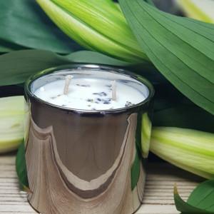 lawenda - świeca sojowa