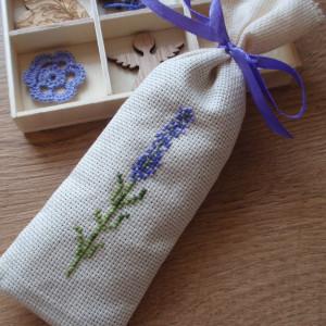 Lawendowa gałązka - woreczek zapachowy