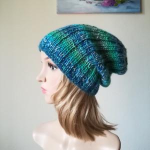 Lazurowe wybrzeże czapka