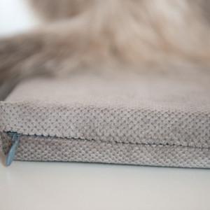 Legowisko dla kota na parapet szare 20cm