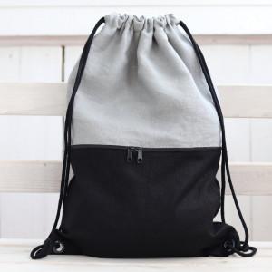 Linany plecak/worek, lekki, elegancki plecak