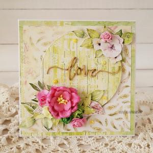 Love - energetyczna kartka w pudełku, 593