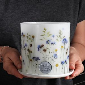 Majowa Polana - lampion z ceramiczną podstawką