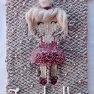 Makatka z imieniem baletnica baletniczka