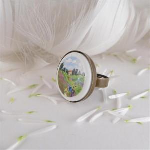 Maki, Claude Monet, Porcelanowy pierścionek