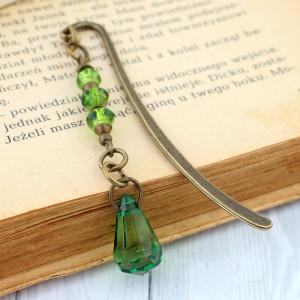Mała zakładka do książki - kryształ