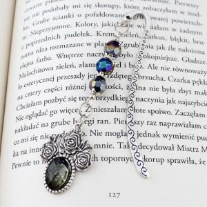 Mała zakładka do książki - Róże
