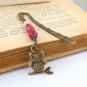 Mała zakładka do książki - sowa