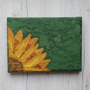 mały obraz - słonecznik