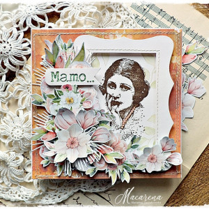 Mamo... - kartka na Dzień Matki