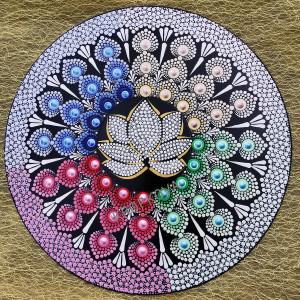 Mandala Kwiat Lotosu
