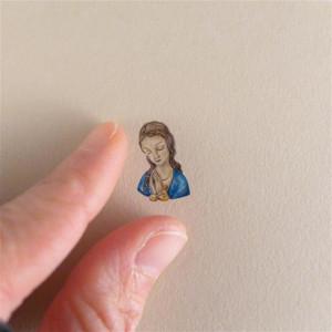 Maria, Matka Boska modląca się, miniatura