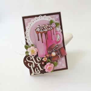 Marshmallows - kartka urodzinowa