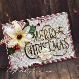 Merry Christmas - z aniołkiem