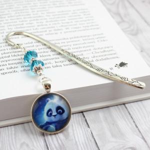 Metalowa Zakładka do książki Panda