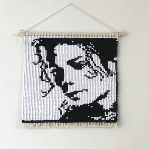 Michael Jackson Makrama ozdobna na ścianę