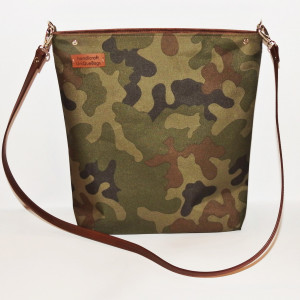 Militarna torba listonoszka wodoodporna