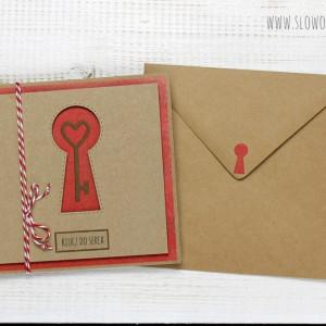 Miłosna kartka w kopercie (ks152)