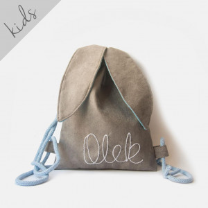 Mini plecak królik z imieniem Olek