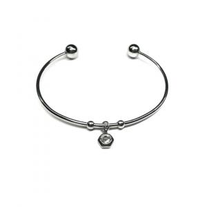 Minimalistyczna bransoletka z cyrkonią