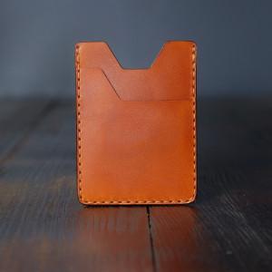 Minimalistyczny męski portfel skórzany Chudy