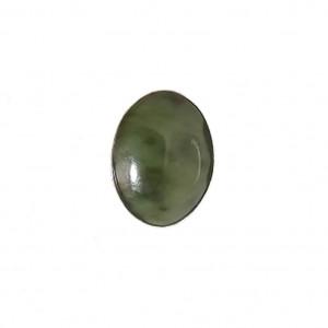Minimalistyczny pierścionek srebro nefryt roz 18