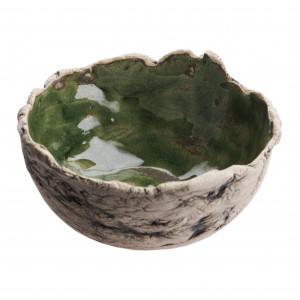 Misa ceramiczna zielona