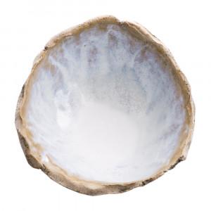 Miseczka ceramiczna biała - lodowa
