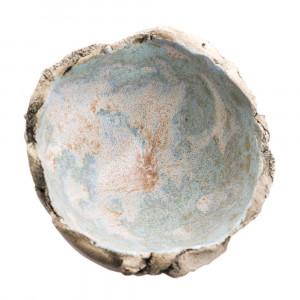 Miseczka ceramiczna błękitna S