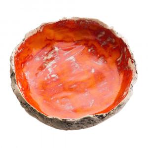 Miska ceramiczna pomarańczowa