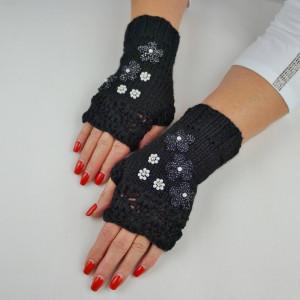 Mitenki rękawiczki alpaka