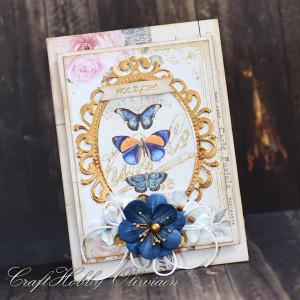 Moc życzeń z motylami