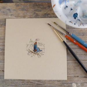 Motyl II, szkicownik, miniatura, obrazek