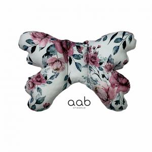 Motylek poduszka antywstrząsowa Kwiaty (406888)