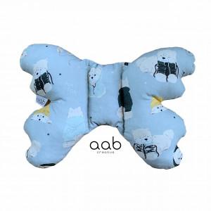 Motylek poduszka antywstrząsowa Pieski (398828)
