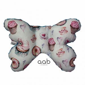 Motylek poduszka antywstrząsowa Słodycze (398081)