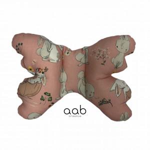 Motylek poduszka antywstrząsowa Zajączki (398824)