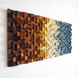 """Mozaika drewniana, Obraz 3D """"B01"""""""