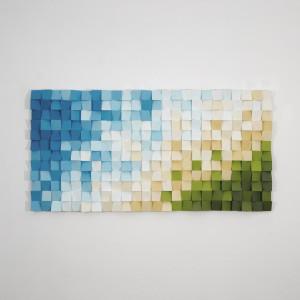 """Mozaika drewniana, Obraz drewniany 3D """"Chorwacja"""""""