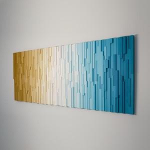 """Mozaika Obraz drewniany 3D """"Plaża"""""""