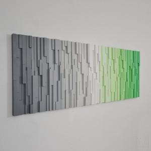 """Mozaika, Obraz drewniany """"Zen garden"""""""