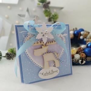 Mroźny  Łoooś - kartka świąteczna