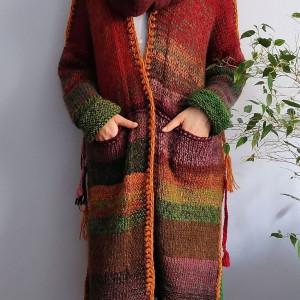 Multikolor sweter .