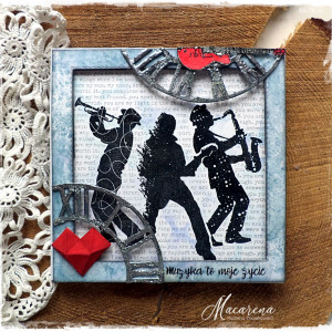 Muzyka - kartka okolicznościowa