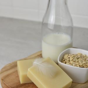 Mydło z mlekiem owsianym