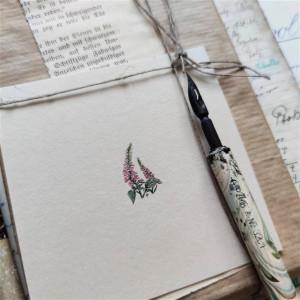 Naparstnica II, Botanical illustration, miniatura
