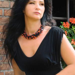 Naszyjnik  lniany - Kora