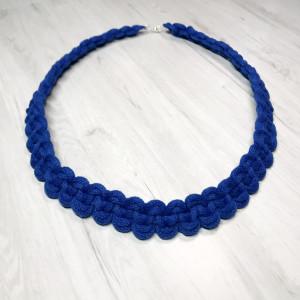 Naszyjnik Makramowy Blue